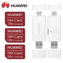 هواوي الأصلي نانومتر بطاقة 90 برميل/الثانية 64GB/128GB/256GB تطبيق لتتزاوج 20 الموالية زميله 20 X P30 هواوي USB3.1 الجنرال 1 نانو الذاكرة بطاقة قارئ