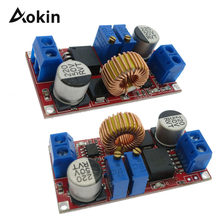 5A Dc-Dc Step Down Module XL4015 DC to DC CC CV Lithium Battery Step down Charging Board Led Power Converter Charger(China)