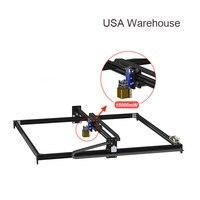 US Warehouse 15W 100*100CM 2Axis Laser Engraving Machine Desktop DIY Laser Engraver Cutter Wood Router Kit