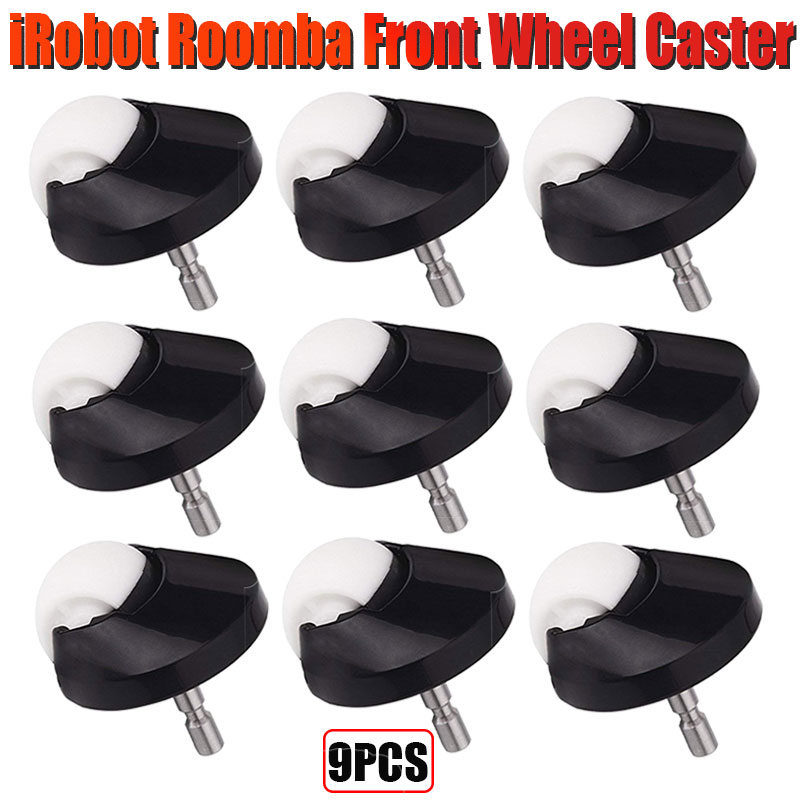 Replacement Roomba Front Wheel Caster Assembly For IRobot Roomba I7 I7+ Plus E5 E6 E7 500 600 700 800 900 Series Roomba Vacuum