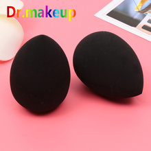 D Soft Water-drop Black Beauty Egg Face Foundation Cosmetic Powder Puff Shape Wholesale