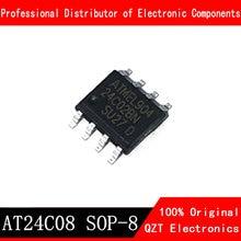10PCS AT24C08 SOP8 AT24C08BN SOP 24C08 AT24C08N SOP-8 SMD new and original IC