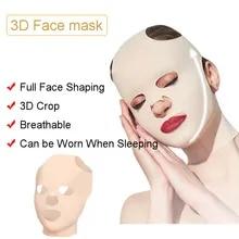 Belt-Shape Massage Lift Slimming-Bandage Anti-Wrinkle Facial Face-V Double-Chin Reduce