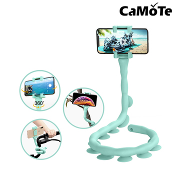 Caterpilla Portable 2nd version stand for xiaom for iPhone holder cute worm car mount phone holder Lazy Worm Phone table stand
