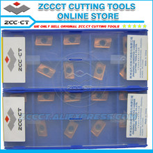 10pcs ZCC tools milling cutter APKT11T308-APM YB9320 apkt11t308 mill cutting tool inserts for medium cut of stainless steel(China)
