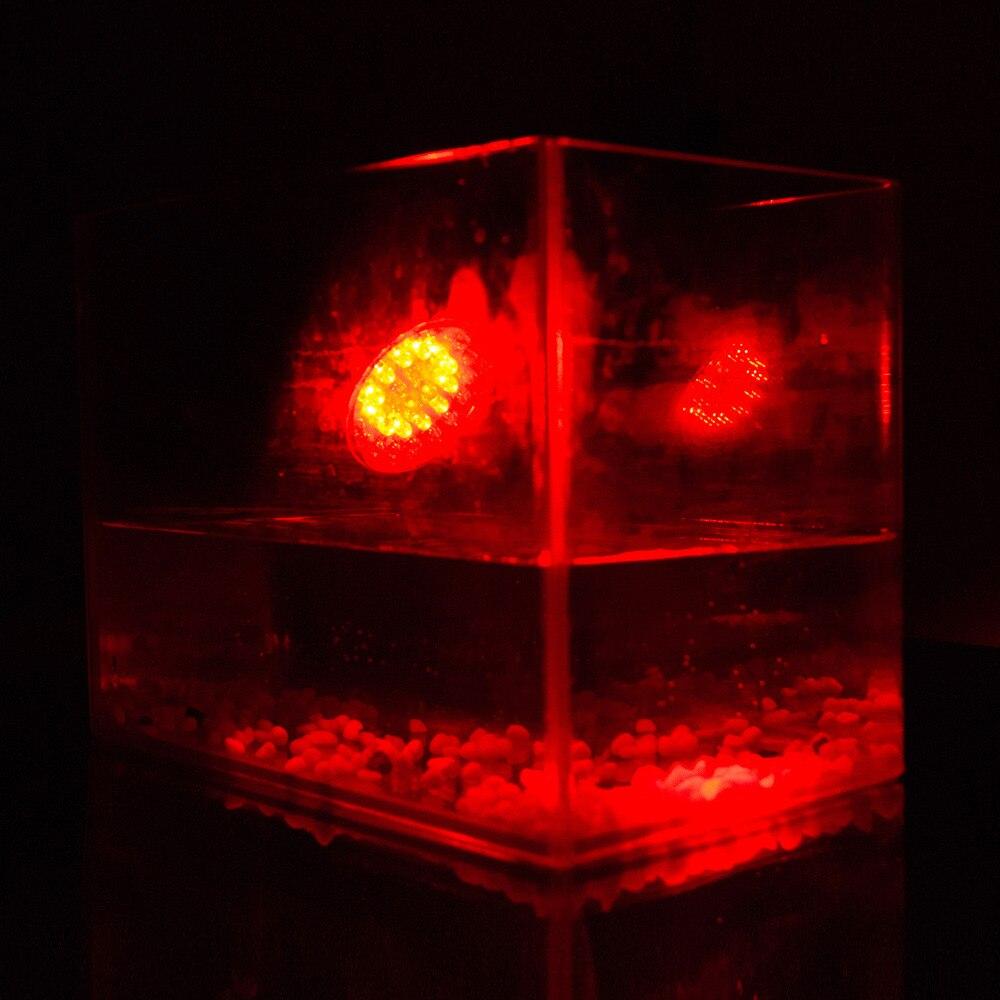 À prova dwaterproof água luz subaquática rgb