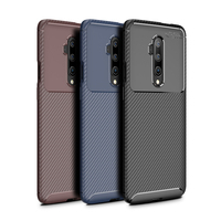 style protective For Oneplus 7T Pro Case Business Style Silicone Rubber Shell Phone Cover For Oneplus 7T Pro Protective Case For Oneplus 7T Pro (1)
