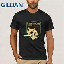 HOT deals fox Tshirt Big Size  Hound Mens T-Shirt Cotton Plus S-3xl Doge Metal Gear Solid S Men T Shirt