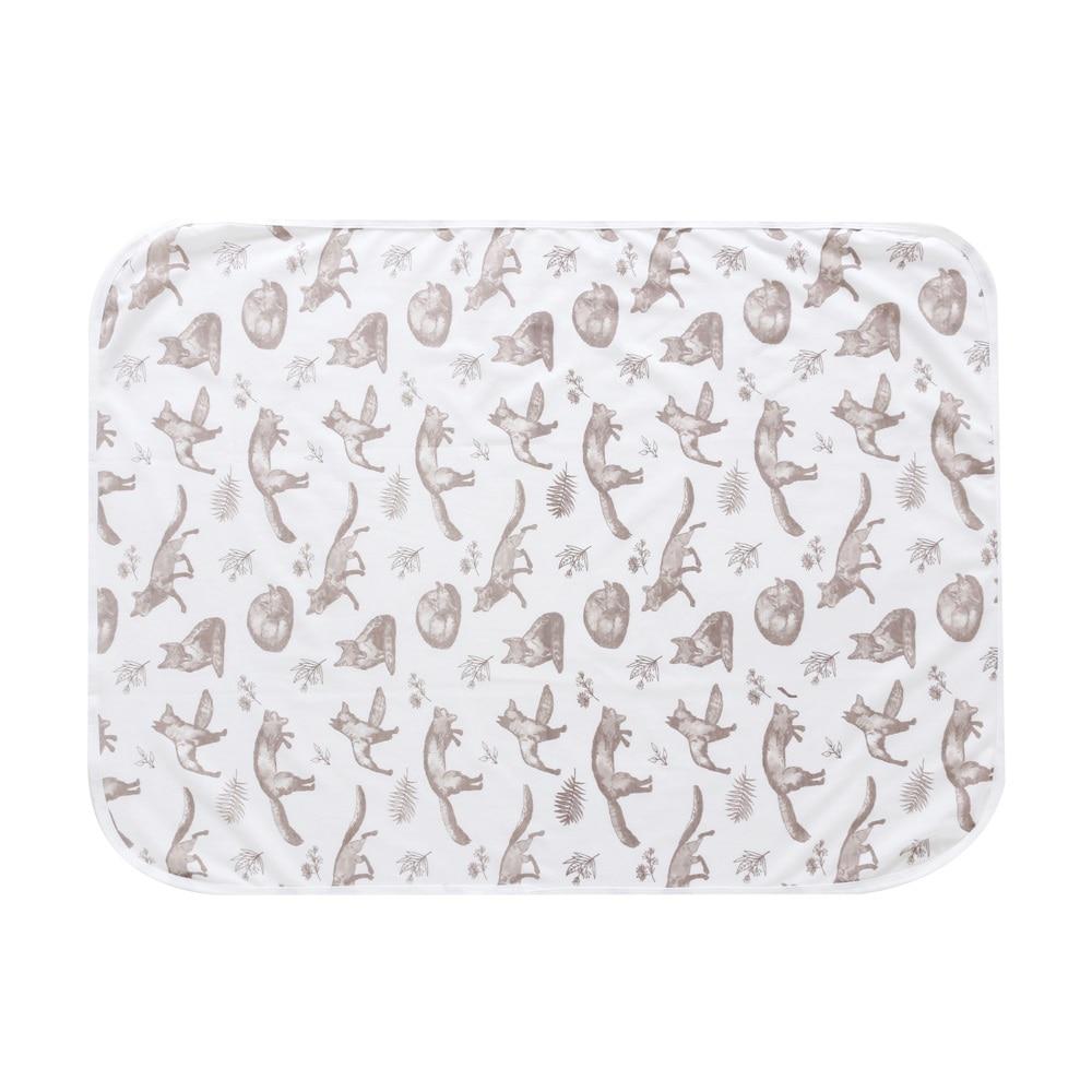New Newborn Baby Bed Sheet Bedding Set 60x80cm For Newborn Crib Sheets Cot Animal 100% Cotton Printing Baby Blanket