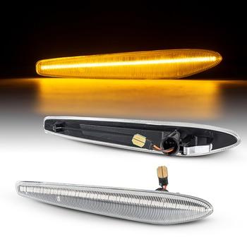 Luz intermitente secuencial LED de posición lateral ámbar dinámica para Alfa Romeo...