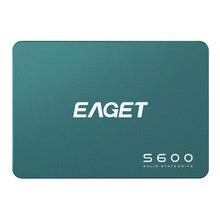 EAGET S600 SSD 128GB 256GB 512GB 2,5 zoll SATAIII HDD Festplatte HD SSD Notebook PC 1TB 2TB Interne Solid State Drive