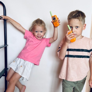 Рация Retevis RT637 для детей, 2шт 5