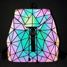 Reflexný svietiaci batoh LUMINOUS 6vzorov