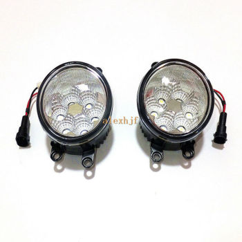 July King 18W 6LEDs 6500K LED Daytime Running Lights LED fog lamp Case for Toyota Highlaner IQ Alpha Rav4 Yaris Venza Verso Vitz