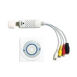 Image 4 - Portátil fácil tampão usb 2.0 vídeo conversor de áudio placa captura dvd dvr vhs suporte ntsc pal vídeo alta qualidade