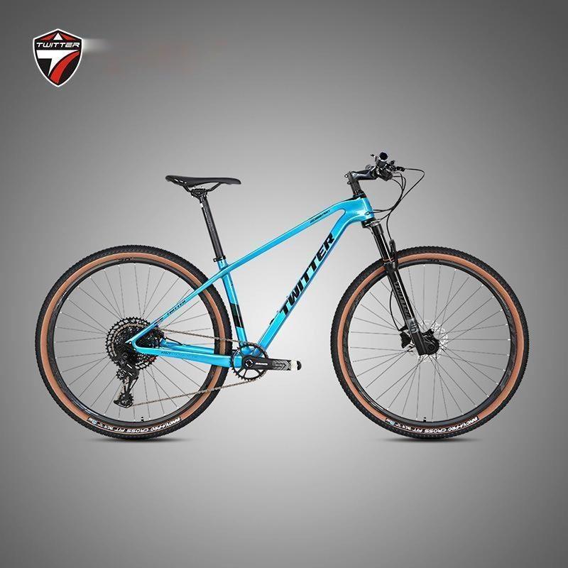 Воин углеродистый горный велосипед SX-12 Скорость дисковый тормоз Горный велосипед 29er беговые для скалолазания горный велосипед 15x110 с внешни...