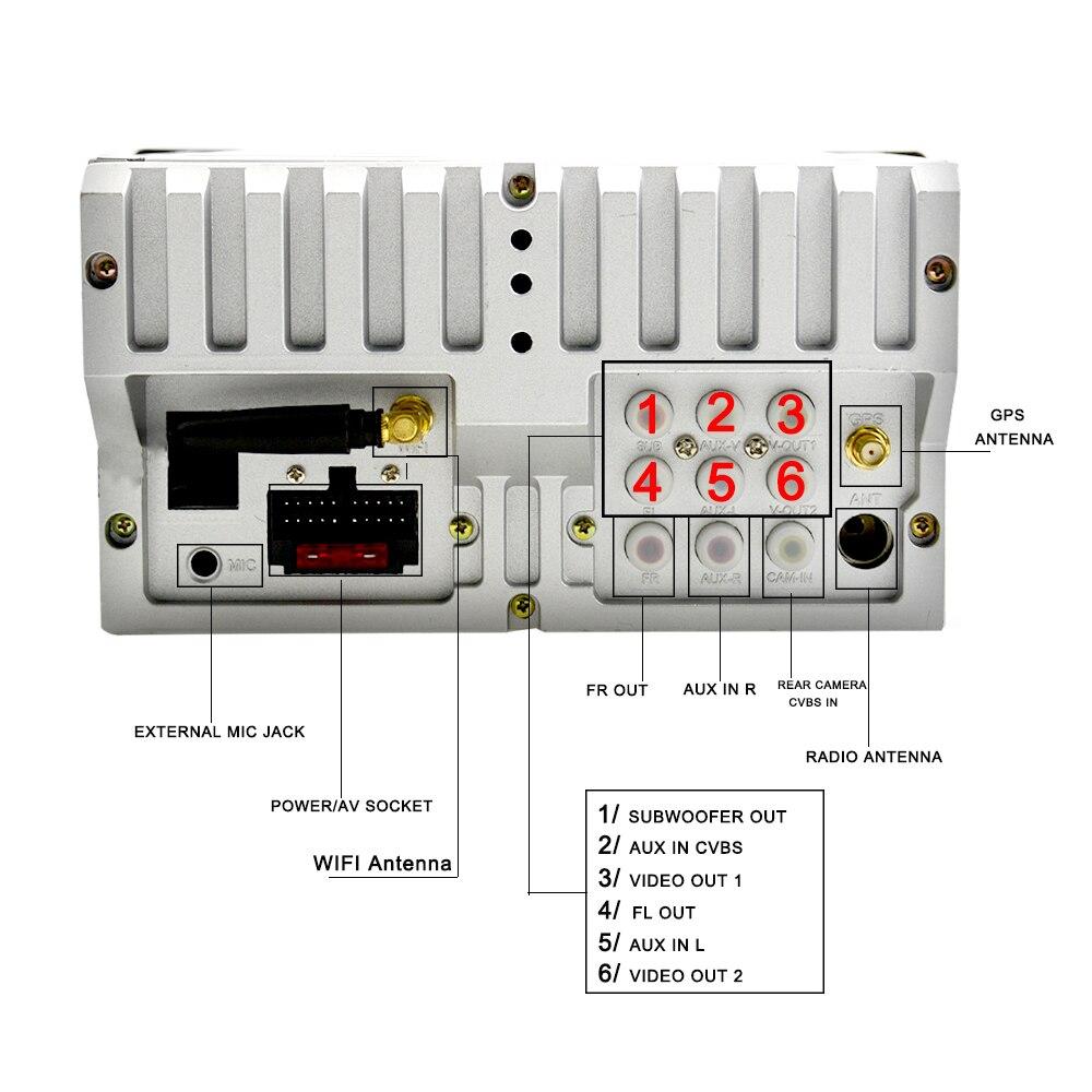 Lecteur multimédia de voiture Ekiy IPS 8 ''2Din Android 9 Auto Radio pour Skoda/Volkswagen/VW/Passat B7/POLO/GOLF 5 6 DVD GPS 4 cœurs - 5