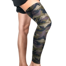 1pc Knee Pad Sleeve Long Elastic Breathable Leg Warmer Protector Fitness Sportswear Accessories