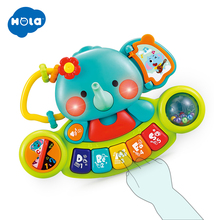 HOLA 3135 Multifunctional Electronic Organ With Animal Sound Light Songs Children Musical Toys Early Educational Toy for Baby