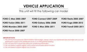 Image 2 - รถDVD GPSสำหรับFord Mondeo S Max Focus C MAX Galaxy Fiesta Transit Fusionเชื่อมต่อKugaเครื่องเล่นDVDเครื่องเล่นมัลติมีเดียกล้อง