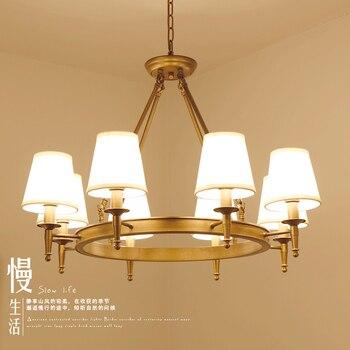 Moderne Kronleuchter Wohnzimmer Schlafzimmer Foyer Leuchten Stoff Lampenschirm Lampe Decor Home Beleuchtung Schwarz Glanz E14 110-220V