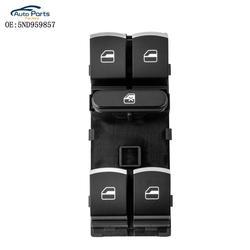 4 Button Auto Windows Electric Control Switches For V W Passat B6 3C Golf Touran Tiguan J*etta MK5 Caddy 5ND959857