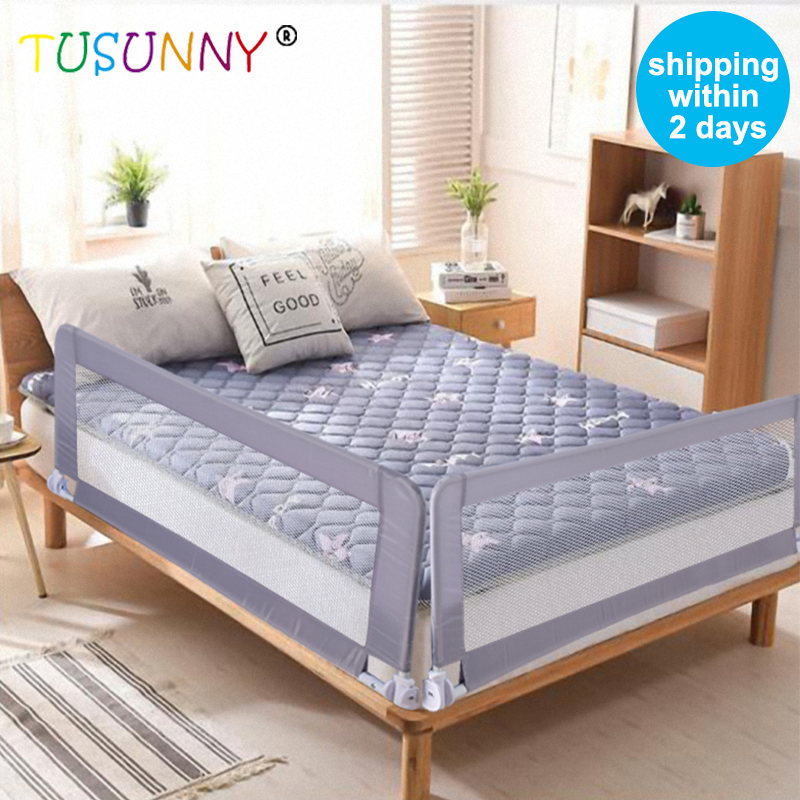 TUSUNNY Baby Playpen Bed Safety Rails For Babies Children Fences Fence Baby Safety Gate Crib Barrier For Bed Kids For Newborns