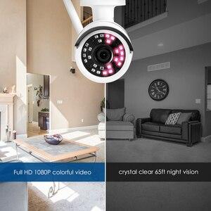 Image 5 - ZOSI, kamera do monitoringu, kamera do monitorowania otoczenia na zewnątrz, odporna na warunki pogodowe, 1080P, Wi Fi, IP, Onvif, 2.0 MP, na podczerwień, rejestracja obrazu nocą, zapewnia ochronę, nadzór wideo