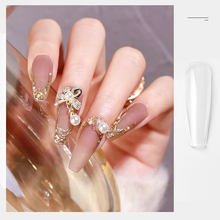 10 Size Transparent Color Fake Nail Tips Accessories for Building 100Pcs/Set Fashion DIY Artificial Nails with Design 2021