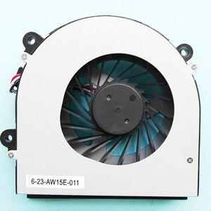 Image 2 - New original fan For Clevo W150 W150er W350 W350ETQ W370ETQ W370SKQ CPU Cooling Fan AB7905HX DE3 6 23 AW15E 010 6 23 AW15E 011