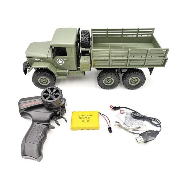 WPL B16 1/16 6WD Green Military Truck RTR