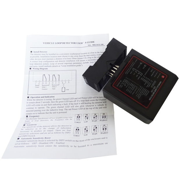 For Automation Vehicle Detector Loop Detector To Sense Vehicle Inspection Device Traffic Inductive Signal Control PD132 4