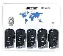 5Pcs KEYDIY KD900 NB SeriesรีโมทคอนโทรลKD NB11 3 KeyสำหรับKD900 + Key Programmer URG200เครื่อง