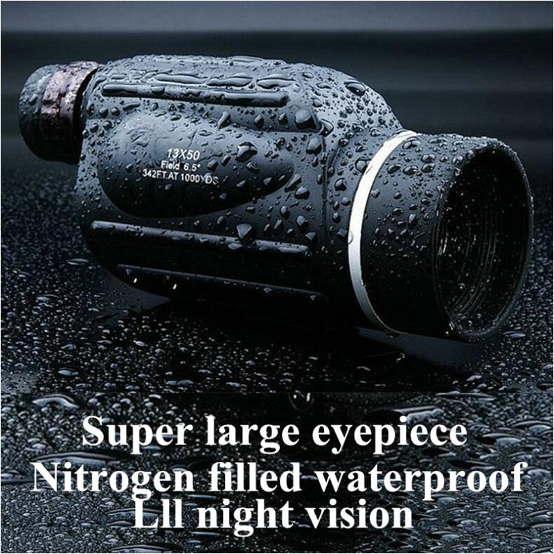 Tools : High Power HD Telescope Monocular 10-30X50 Zoom Bird Watching Waterproof Binoculars Lll Night Vision High Quality For Hunting