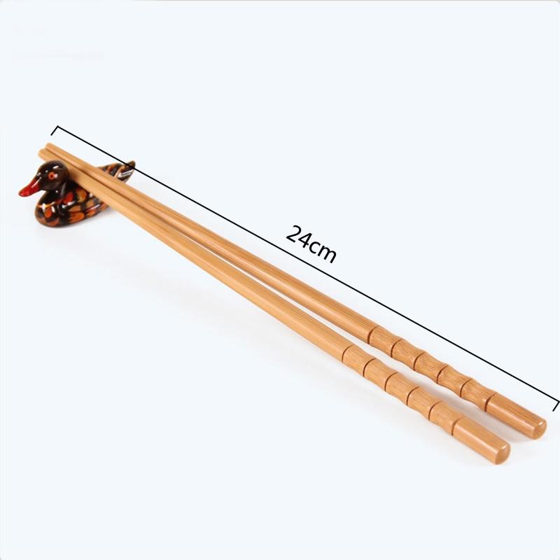 Купить 2 пары бамбуковых палочек для суши ручной работы японская посуда