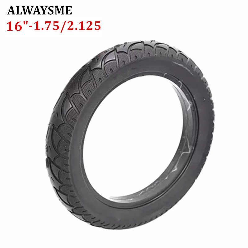 "ALWAYSME 1PCS 16""-1.75X1.95/2.125 Baby Stroller Bike Tire Replacement"