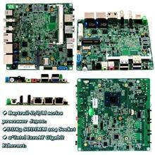 Mini slim Nano-ITX J1900 celeron Micro Промышленная материнская плата 12*12 Промышленная материнская плата