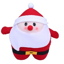 Hand Warmer Pillow Santa Claus Handwarmer Nap Cushion Adorable For Women Children