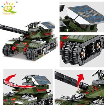 """Конструктор HUIQIBAO """"Военный танк"""", 1083 шт. 4 в 1 4"""
