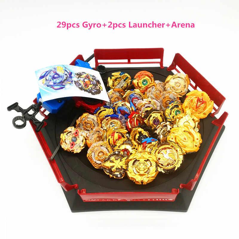 Золотая серия все модели пусковых установок Beyblade Burst игрушки GT Arena коробка Bayblade Металл God Fafnir волчок Bey Blade лезвия игрушки