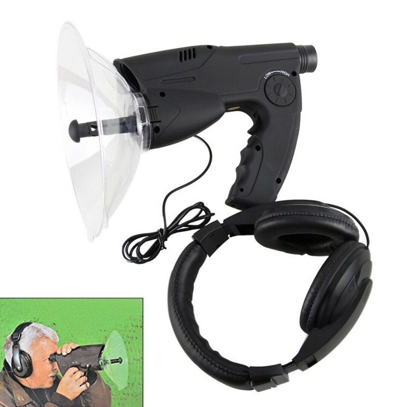 Sound Amplifier Spy Ear Bionic Listening Device Nature Observing Record Amplifier Ear Bionic Birds Recording Watcher Extreme