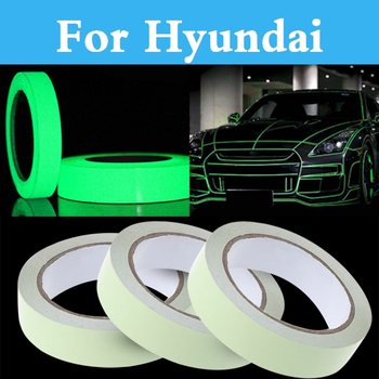 Car Door Sticker Decal Warning Tape Reflective Stickers For Hyundai Verna Rvverna Evelantra Grand Starex Santafe Coupe Santafe image