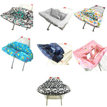 Shopping Cart Cover Protection Baby Kid Dining Chair Seat bag Infant Chair Cart Seat Cover Reusable Tote Children Carriage Cover