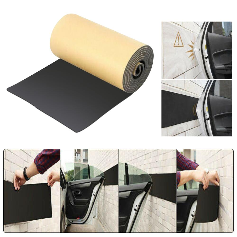 Car Auto Door Protector Garage Rubber Strip Wall Guard Bumper Safety Parking