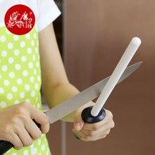 TAIDEA varilla de afilar T0843C, cuchillos de cerámica de alto rendimiento para piedra de afilar de acero de circonia de 10 pulgadas