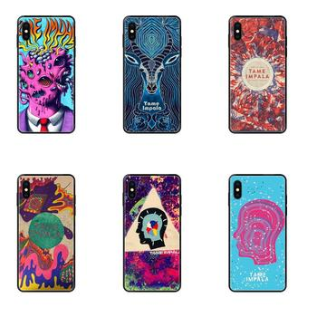 Fashion Tame Impala Skull Phone Soft Shell For Xiaomi Mi Note A1 A2 A3 5 5s 6 8 9 10 SE Lite Pro Ultra image