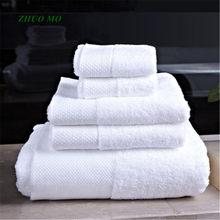 Toalhas de hotel de luxo 5 estrelas 100% algodão branco grande toalha de banho toalha de praia grossa secagem rápida macio alta absorvente antibacteriano