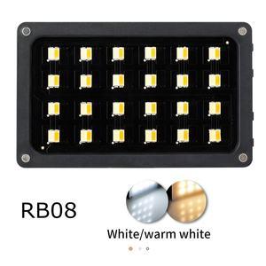 Image 4 - Weeylite RB08 RB08P RGB 2500K 8500K מיני וידאו LED אור מילוי אור מובנה סוללה עבור טלפון מצלמה ירי סטודיו