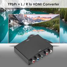 Element do konwertera HDMI zestaw R L Adapter Audio gospodarstwa domowego YPBPR RGB wideo 1080P akcesoria komputerowe dla PC DVD tanie tanio ALLOYSEED Mężczyzna Mężczyzna NONE Component to HDMI Converter CN (pochodzenie)