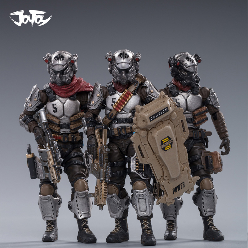 1/18 JOYTOY Action Figure HELL SKULL Collectible 5 Toy Military Model Christmas Gift For Men